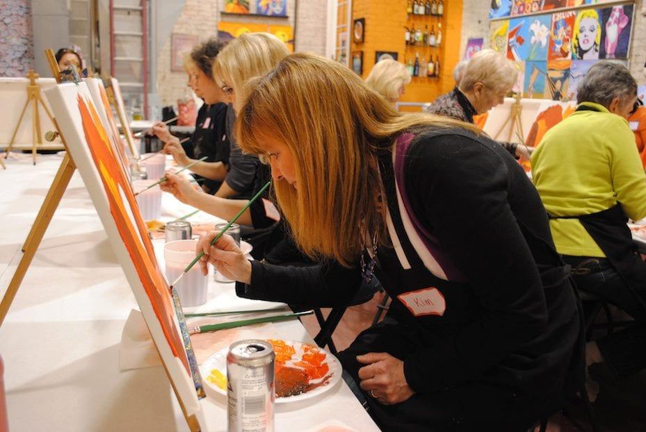 Paint Monkey Pittsburgh S Premiere Painting Classes Parties